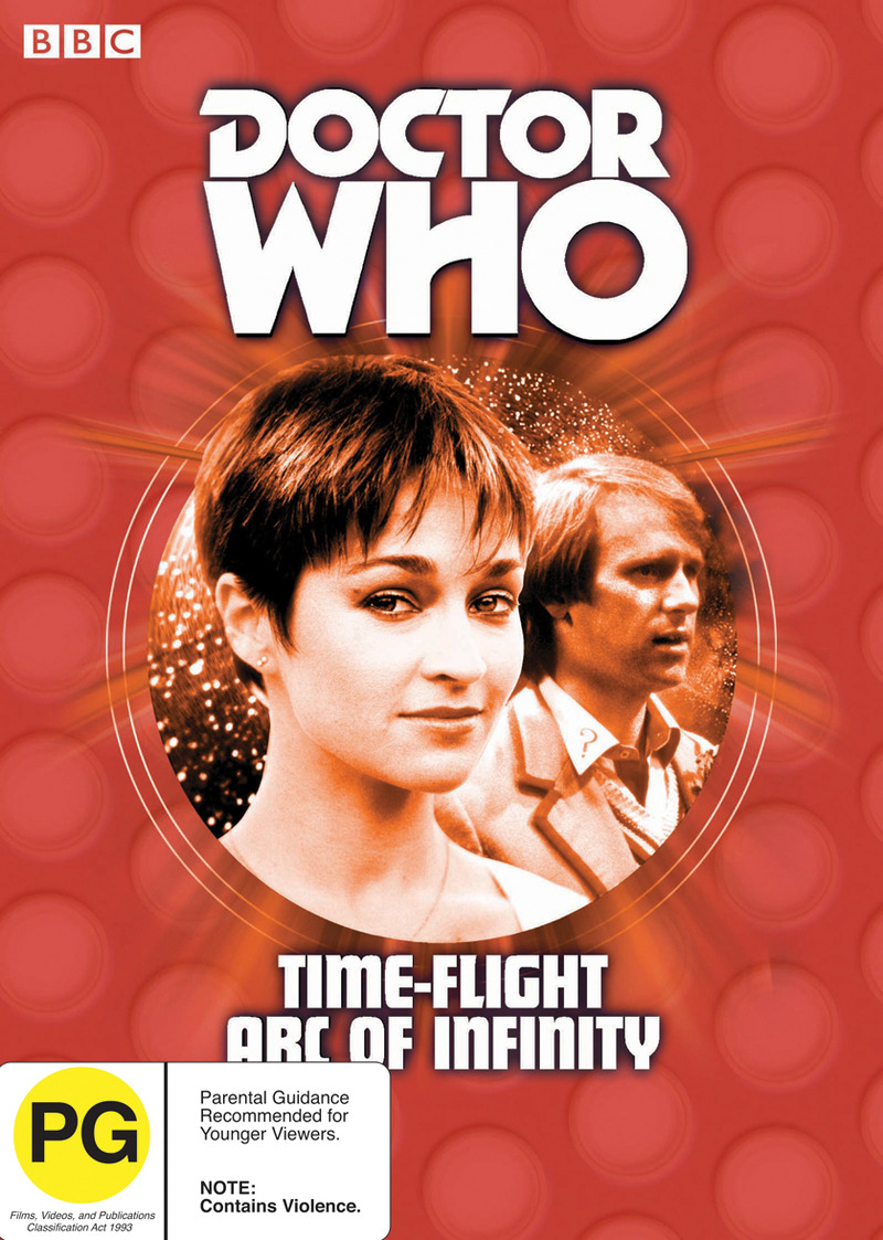 Doctor Who - Time-Flight / Arc of Infinity Box Set on DVD image