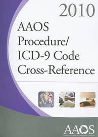 AAOS Procedure/ICD-9 Code Cross-Reference image