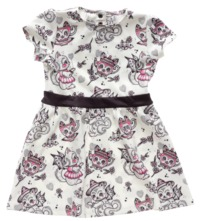 Sourpuss Creep Heart Dress (Size 5)