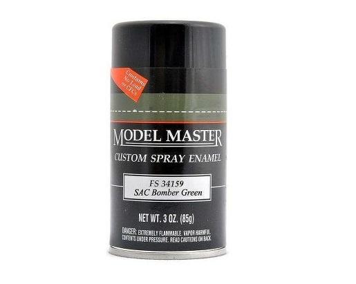 Model Master: Enamel Aerosol - SAC Bomber Green (Flat) image
