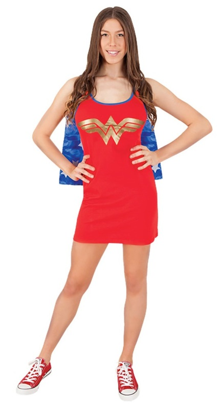 DC Comics: Wonder Woman - Tank Dress (Small)