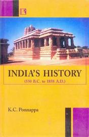 India's History by Kongetira Chinnappa Ponnappa image