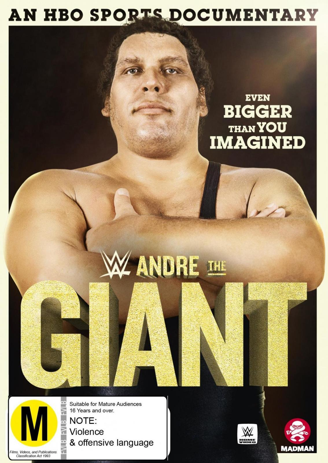 WWE - Andre The Giant on DVD image
