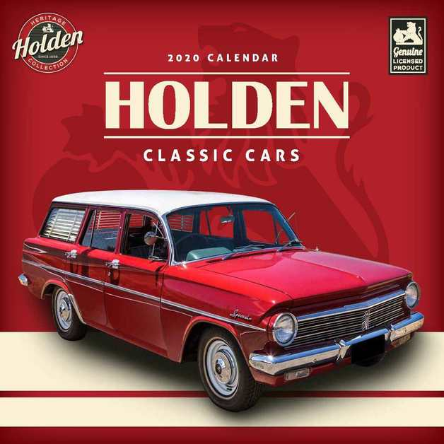 Classic Holden Cars 2020 Square Wall Calendar