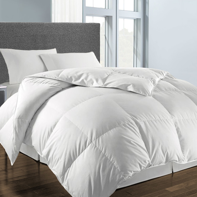 Royal Comfort Wool Blend All Seasons Quilt - Double
