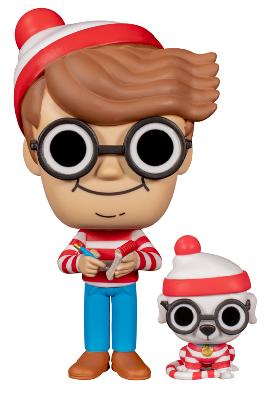 Where's Waldo – Waldo (with Dog) Pop! Vinyl Figure