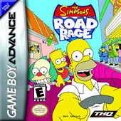 Simpsons Road Rage for Game Boy Advance
