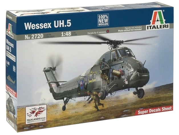 Italeri: 1:48 Wessex UH.5 - Model Kit