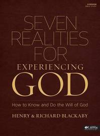 Seven Realities for Experiencing God by Henry , T Blackaby