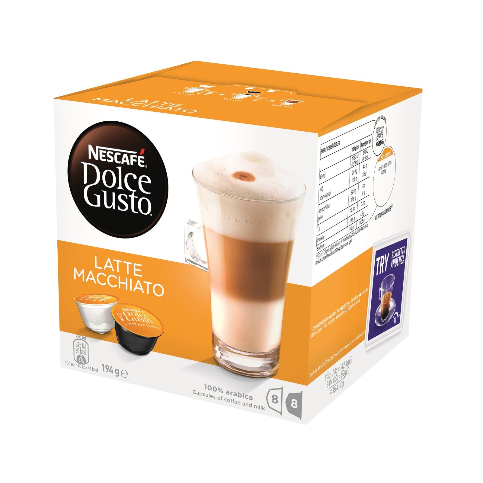 Nescafe Dolce Gusto (Latte Macchiato, 8pk) image