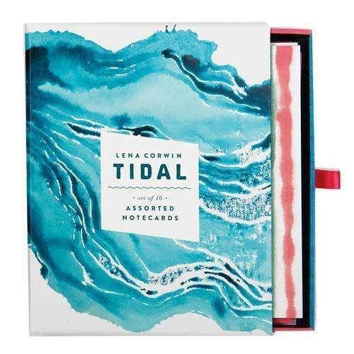 Galison: Greeting Notecards - Tidal image