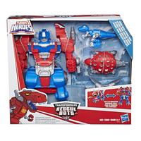 Transformers: Playskool Heroes - Rescue Bots Knight Watch Optimus Prime
