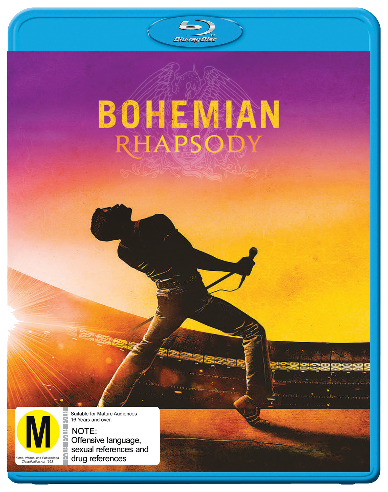 Image result for bohemian rhapsody blu ray