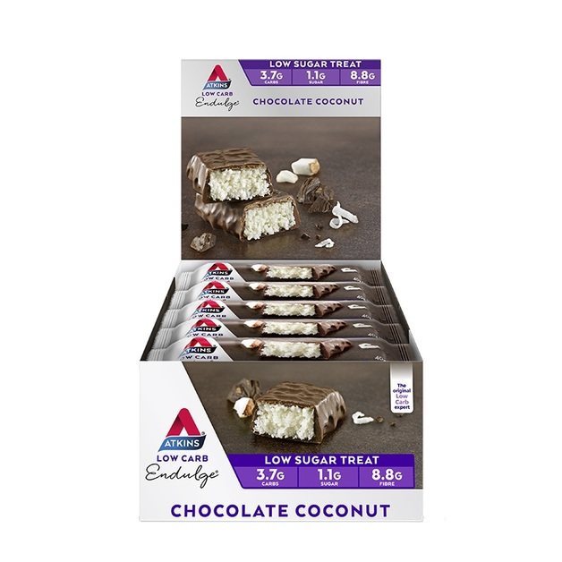 Atkins Endulge Bars - Chocolate Coconut (Box of 15)