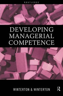 Developing Managerial Competence by Jonathan Winterton image