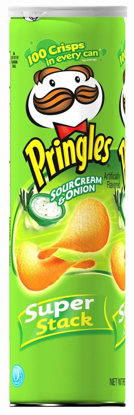 Pringles Super Stack Sour Cream & Onion 158g image