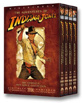 Indiana Jones Complete DVD Movie Collection on DVD