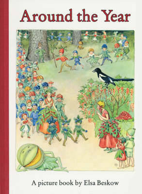 Around the Year by Elsa Beskow image