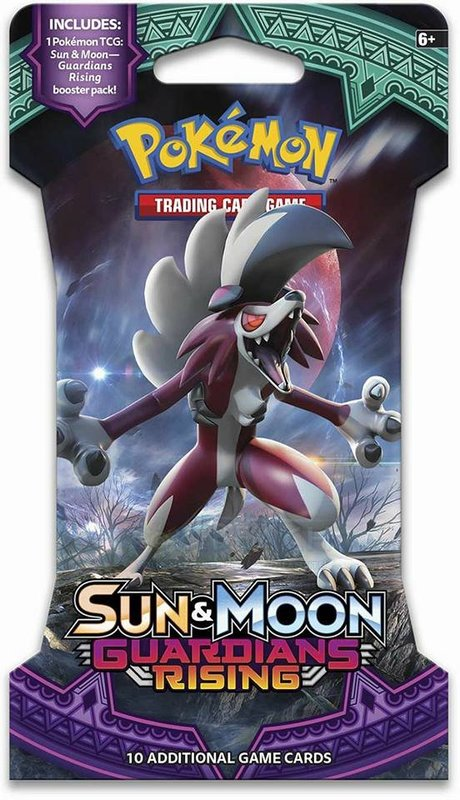 Pokemon TCG Sun & Moon Guardians Rising Single Blister