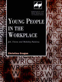 Young People in the Work Place by Christina Mary Cregan image