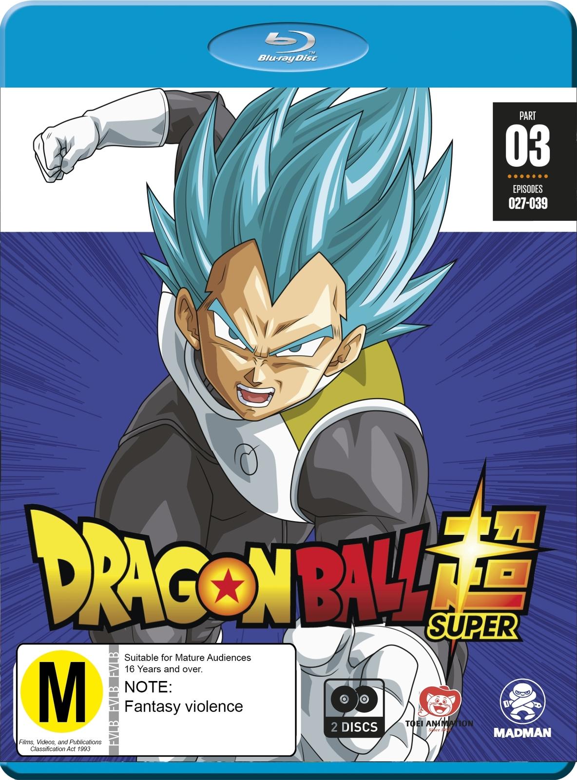 Dragon Ball Super - Part 3 (Eps 27-39) on Blu-ray image