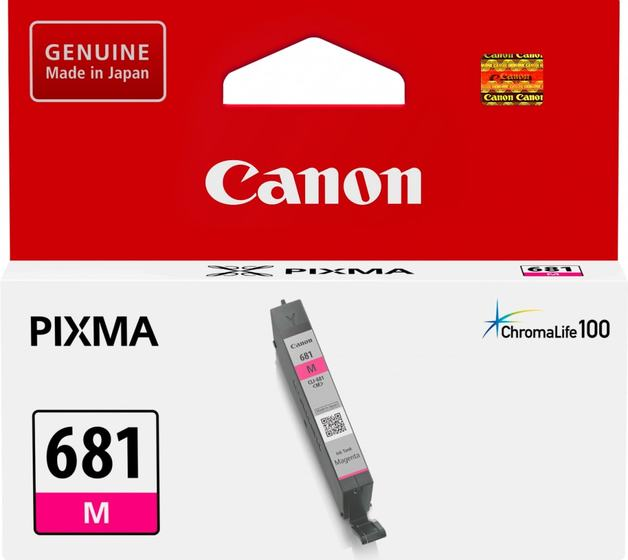 Canon CLI681M Magenta Standard Yield Ink Cartridge