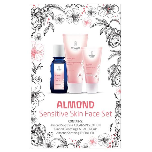 Weleda Almond Sensitive Skin Face Set