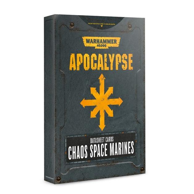 Apocalypse Datasheets: Chaos Space Marines Marines