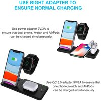 4 in 1 Wireless Fast Charging Station - 15W