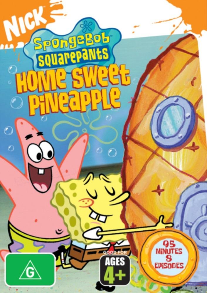 Spongebob Squarepants: Home Sweet Pineapple on DVD image