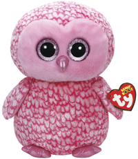 Ty: Beanie Boo's - Pinky Owl Large
