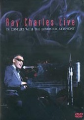 Ray Charles - In Concert With The Edmonton Symphony on DVD