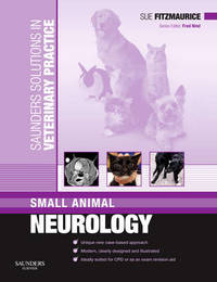 Saunders Solutions in Veterinary Practice: Small Animal Neurology by Sue Fitzmaurice image