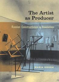The Artist as Producer by Maria Gough image