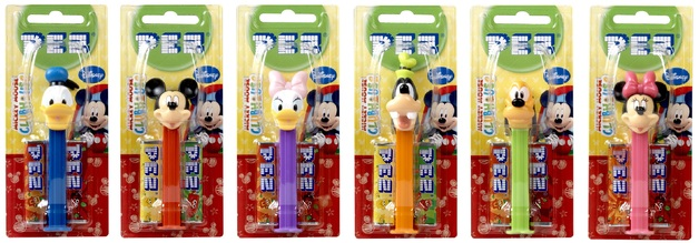 Pez - Mickey Mouse Club House (Assorted Designs)