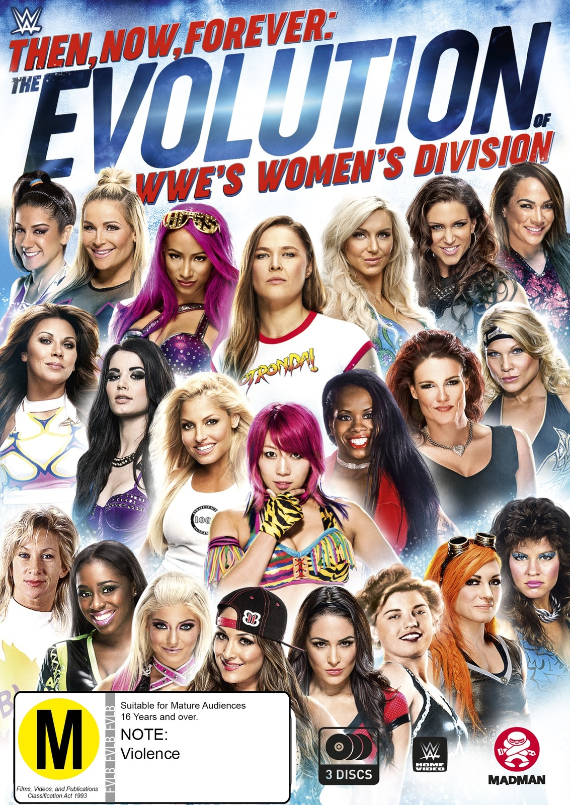 Wwe: Then, Now, Forever: The Evolution Of Wwe'S Women'S Division on DVD image