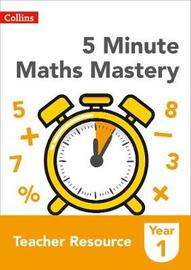 5 Minute Maths Mastery Book 1 by Collins image