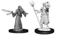 D&D Nolzur's Marvelous: Unpainted Miniatures - Male Elf Wizard image