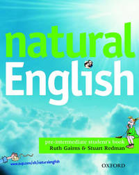 Natural English: Pre-intermediate level: Student's Book (with Listening Booklet) by Ruth Gairns image