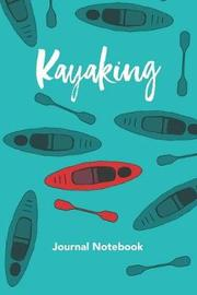 Kayak Journal Notebook by Quirky Interests Publishing image