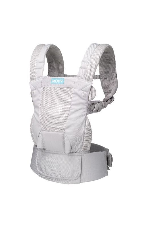 Moby Move Baby Carrier - Glacier Grey
