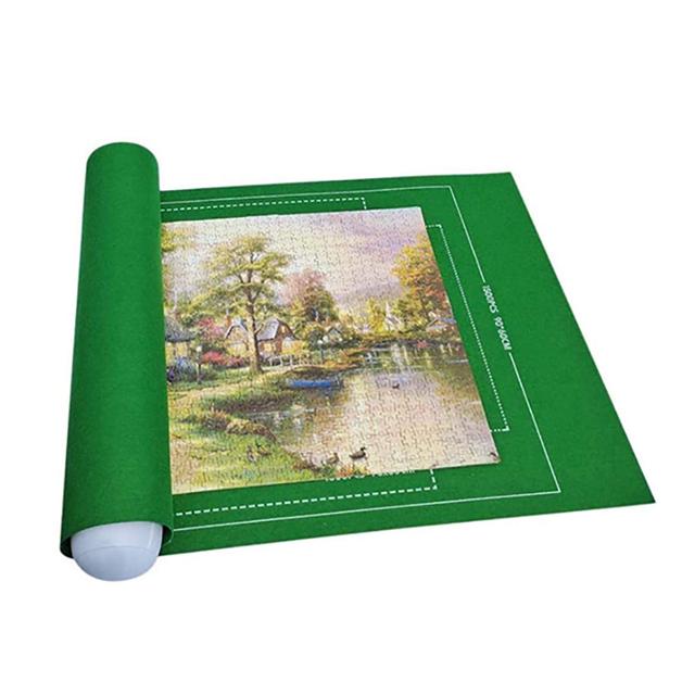 120x80 cm Puzzle Roll 500-2000 pcs - Green