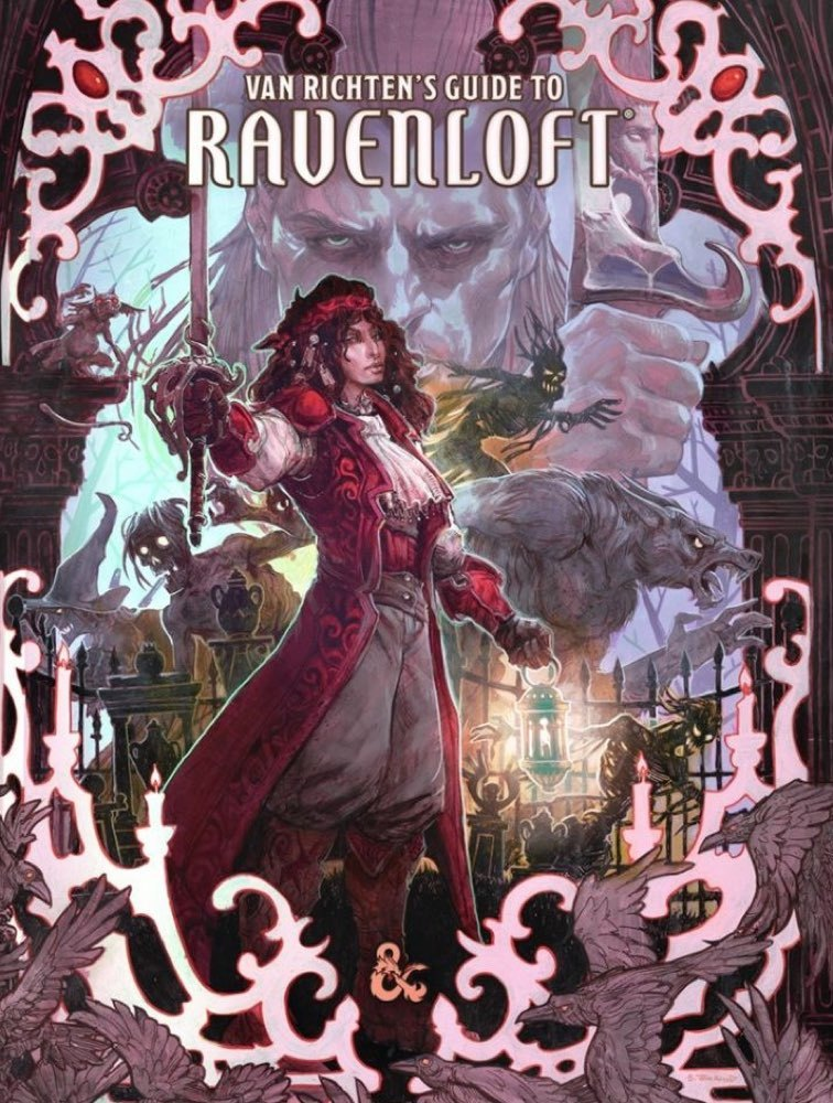 Dungeons & Dragons: Van Richten's Guide to Ravenloft (Exclusive Cover) by Wizards of the Coast image