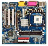 Albatron Motherboard PM266A PRO V1.2 SKT 478 VGA+LAN+5.1 SND - PRESCOTT SUPPORT image