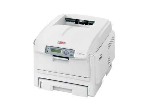 Oki C5700n CLR 32ppm mono 256MB 1200x600 DPI Colour Laser Printer + Network image