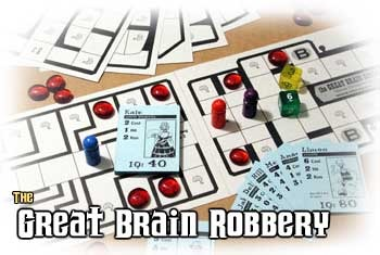 Great Brain Robbery game