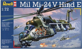 Revell MIL MI-24V Hind E 1/72 Model Kit