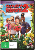 Cloudy with a Chance of Meatballs 2 (DVD/Ultraviolet) DVD
