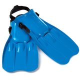 Intex: Swim Fins - Medium (Blue)