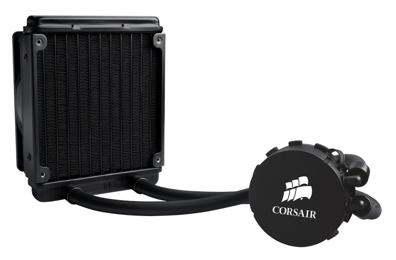 120mm Corsair Cooling Hydro Series H55 AIO CPU Cooler image